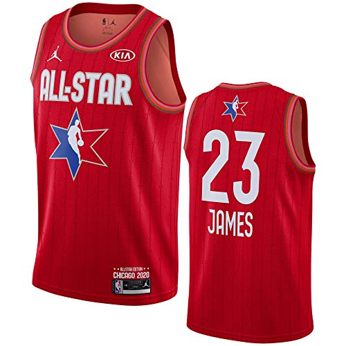 Jordan NBA Swingman All Star Red Jersey 2020 CJ1066-657 Size L