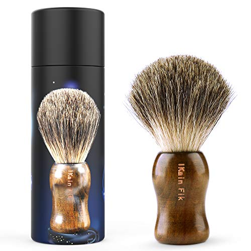 Our #2 Pick is the Ikain Fik Pure Badger Shaving Brush
