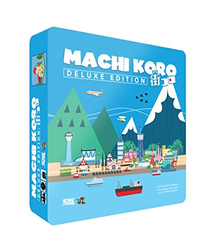 IDW Games IDW00894 - Brettspiele, Machi Koro Deluxe Edition - Englisch