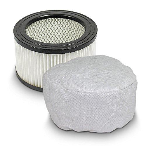 Sparset Ersatzfilter + Vliesfilter für Aschesauger mit Motor Ersatz Filter