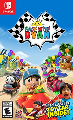 Nintendo Switch Race With Ryan Video Game With Exclusive Toy Car Bonus