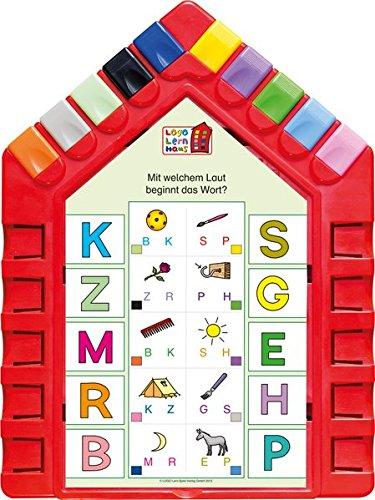 Logo Lernhaus: Set 2 Vorschulwissen 4-5-jährige Kinder: Mein Lernsteckspiel: Spielen - Lernen - Kontrollieren / Set 2 Vorschulwissen 4-5-jährige ... Spielen - Lernen - Kontrollieren)