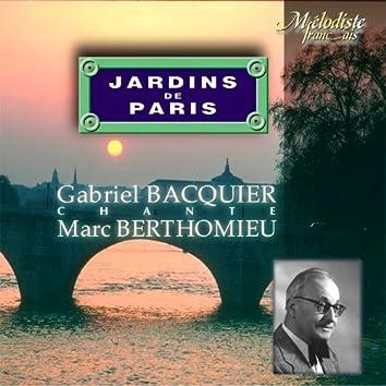 Berthomieu: Jardins de Paris (Gardens of Paris)