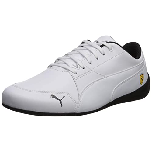 ab3107703f1 Puma Men s Ferrari Drift Cat 7 Leather Stripe Sneaker