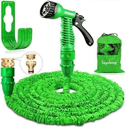 Suplong Garden Hose Expandable Water Pipe 3 Times Expanding 100ft Flexible...