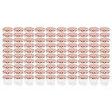 WELLGRO Einmachgläser mit Schraubdeckel - 230 ml, 8,5 x 6,5 cm (ØxH), Glas/Metall, rot karierte...