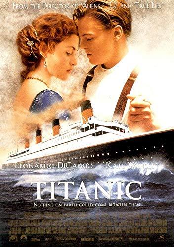 TITANIC (1997) Original Authentic Movie Poster 27x40 - Double-Sided - Kate Winslet - Leonardo DiCaprio - Frances Fisher - Billy Zane