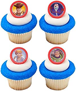 DecoPac Toy Story 4 Disney/Pixar Cupcake Rings - 24 count