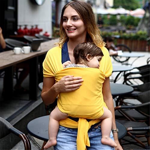 BABIFIS Confortable Infant Sling Soft Wrap Naturel Porte-bébé Sac À Dos 0-3 Ans Respirant Coton Hipseat Couverture de Soins Infirmiers
