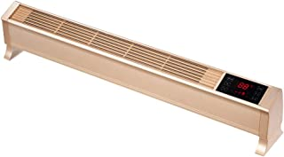 Baseboard Heater, 3 Gears Adjustment Overheating Protection Convection Heating Heater/Wall-Mounted Electric Heater for Hom...