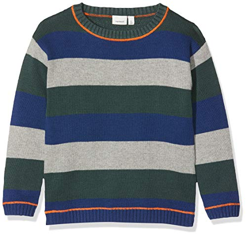 NAME IT jongens pullover NMMNICE LS KNIT BOX