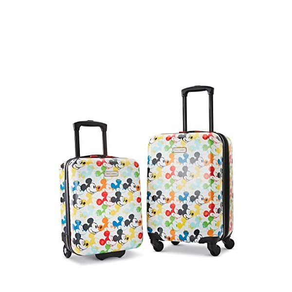 AMERICAN TOURISTER Kids' Disney Hardside Luggage with Spinner Wheels