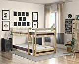 Strictly Beds and Bunks - Stockton Low Twin Bunk Bed, 4ft 6 Double