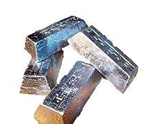 Soft lead ingots Clean lead ingots  25 lbs package Cast into 1/2 lb or 1 lb Lee ingots