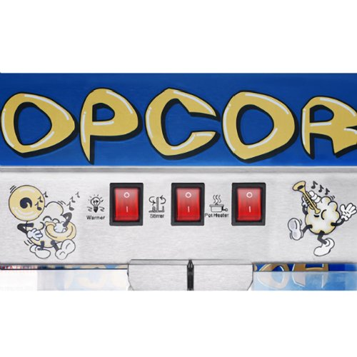 Product Image 3: Great Northern 6210 Pop Heaven Commercial Quality Popcorn Popper Machine, 12 Ounce