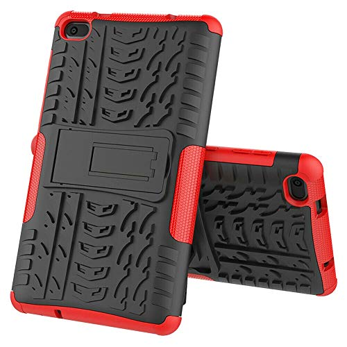 RZL PAD & TAB cases For Lenovo Tab E7 TB-7104F 7.0 inch, Heavy Duty 2 in 1 Hybrid Rugged Prtective Cover Case Shock Proof TPU Kickstand Cover For Lenovo Tab E7 TB-7104F 7.0 inch (Color : Red)