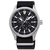 Orient Reloj Analógico para Hombre de Automático con Correa en Nailon RA-AK0404B10B