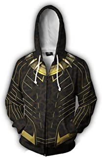 Rulercosplay Fashion Hoodie Avenger Hoodie Tony Sport Jacket Cosplay Costume (Panther, L)