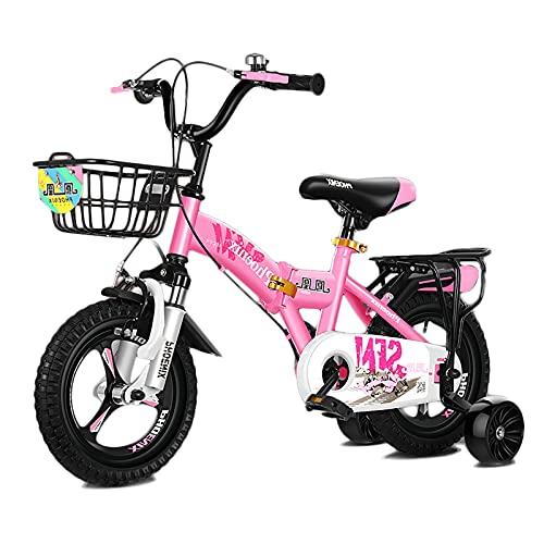 Bicicletas Infantiles Bicicleta De Niños Plegables con 12''/14''/16''/18''/20'' Neumáticos de Aire, Bicicleta Deportiva para 2-13 Años de Edad, Manillar y Silla de Montar Ajustables, Fácil de Montar