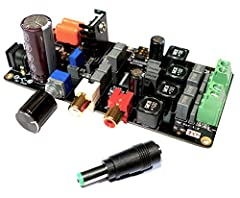 This class D amplifier goes up to 2 x 50W Max The components used are specifically designed for high end audio devices (Würth Inductor, TI chipset, film capacitors and ± 1% thin film resistors) VOLT AMP boasts 4 output filters, 4 EMI Snubbers, 4 boot...