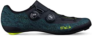 R1 Infinito - Petroleum Blue/Fluo Yellow Knitted - 46