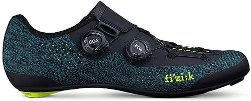 fizik Infinito R1 Knit Rennradschuhe Unisex Petroleum blau Knitted 2019 Rad-Schuhe Radsport-Schuhe