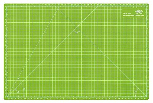 Wedo 079245 Cutting Mat, 45 cm, Tappetino da Taglio 450x300x3 mm, Verde Mela