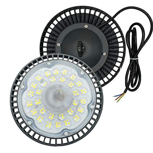 UFO LED High Bay Light 100W, 6000-6500K,100 watt UFO LED...