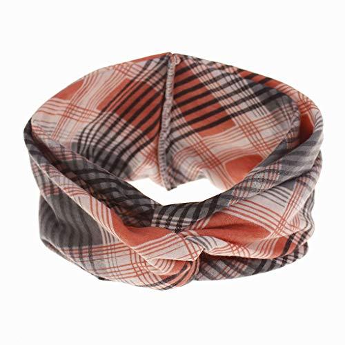 2 x make-up haarbandjes, elastische haarband voor dames, yoga-oefeningen, elastische haarband, bloemenpatroon, elastisch, gedraaide haarbanden (verschillende kleuren)