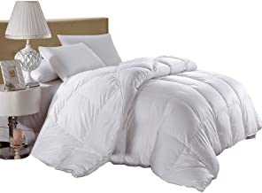 sheetsnthings Baffle Box 500TC, 100-Percent Cotton Shell, Extra Warm Duck/60 Ounces King Duck Down Comforter