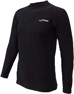 FINIS Thermal Long-Sleeve Swim Shirt, Black