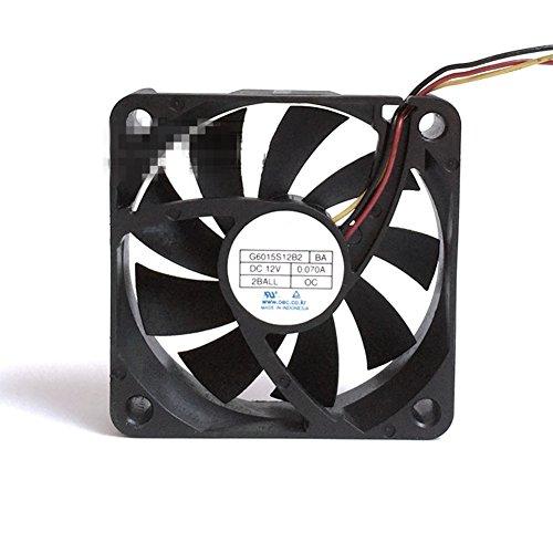 G6015S12B2 BA 60mm 6cm silencioso silencioso para HLT5087 HLT5687 HLT6187 HLT5687SAX/XAA HLT6187SX/XAA ventilador de refrigeración axial