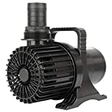 WaterRebirth PS-8600 High Flow Submersible Water Pump - Pond Pump - Submersible Pump - Water Fountain Pump - Aquarium Pump (8600GPH 520W)