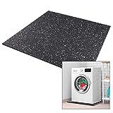 Premium Antivibrationsmatte 60x60x1cm aus Deutschland für Waschmaschine Trockner etc. -...