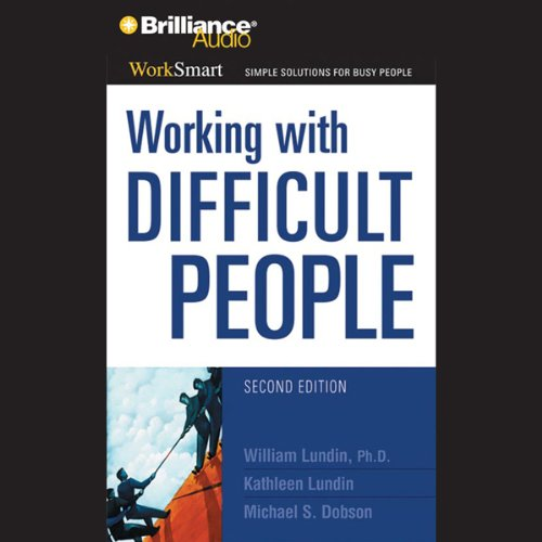 Working with Difficult People audiobook cover art