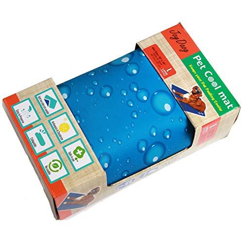 JoyDaog - Tappetino per cani, in gel non tossico per animali domestici, per gatti nei giorni caldi estivi, 90 x 50 cm