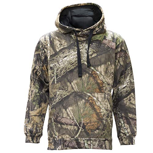 Staghorn Mens All Over Camo Hoodie, Mossy Oak Breakup Country, X-Large