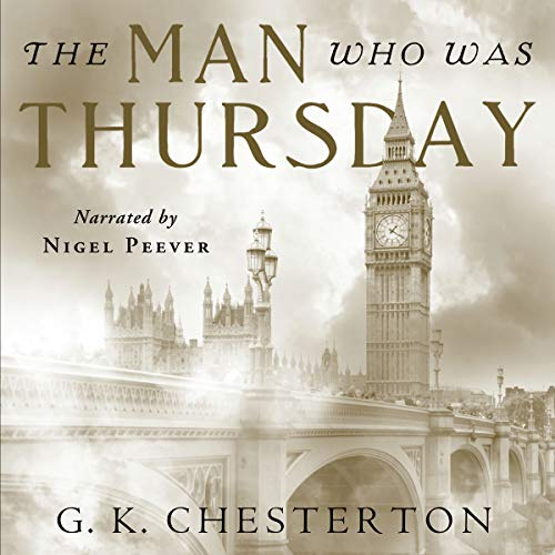 The Man Who Was Thursday: Centennial Edition audiobook cover art