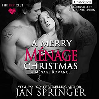 A Merry Menage Christmas audiobook cover art