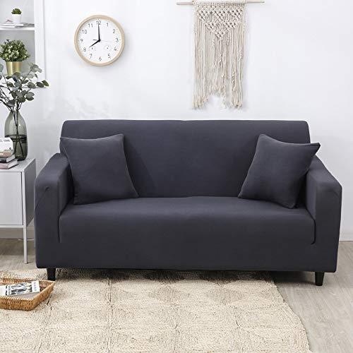 WXQY Funda de sofá elástica para Sala de Estar, Funda de sofá Antideslizante con Todo Incluido, Funda de sofá de Esquina en Forma de L, Toalla, Funda de sofá A11, 3 plazas
