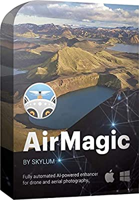 AirMagic - Drone Photography Enhancing Software by Skylum | Automatic Drone Photo Enhancing Software for PC & Mac | Remove Haze, Enhance the Sky, Reveal Details & Boost Image Colors