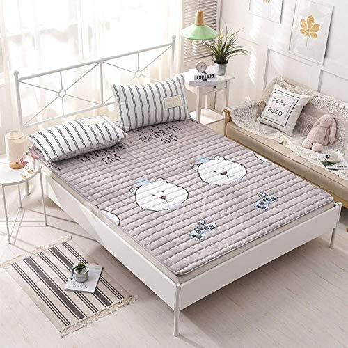 MKXF Estera hipoalergénica Fina del Piso de la Cubierta del colchón Que se dobla para Acampar en casa del Viaje