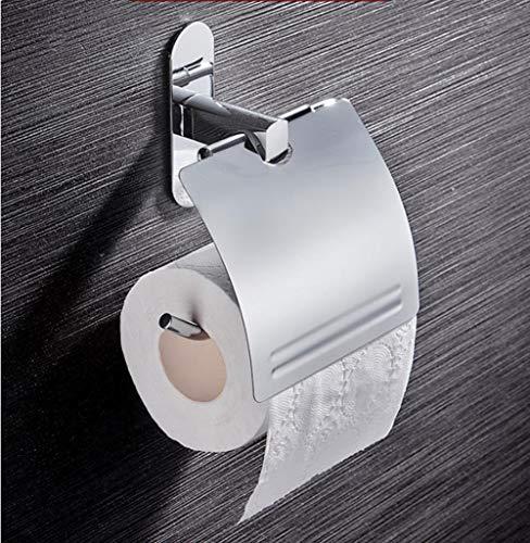 ZYJ Toilettenpapierspender, Papierhandtuchhalter Punschfreier Papierhandtuchhalter aus Edelstahl Toilettenpapierbox Handpapierrollenhalter