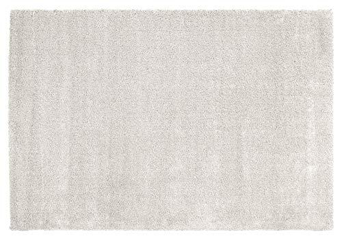 LAMBADA SHAGGY Hochflor Langflor Teppich in creme, Größe: 140x200 cm
