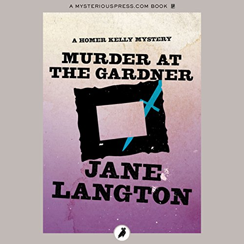 Murder at the Gardner audiobook cover art