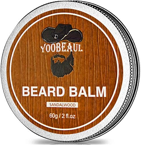 Beard Balm With 100 Natural Beard Oil in it Contains Argan Jojoba Oils Styles Strengthens Softens product image