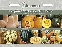 【輸入種子】 Johnsons Seeds Seed Collection Pumpkins & Winter Squashes シード・コレクション パンプキン&ウインター・スカッシュ ジョンソンズシード