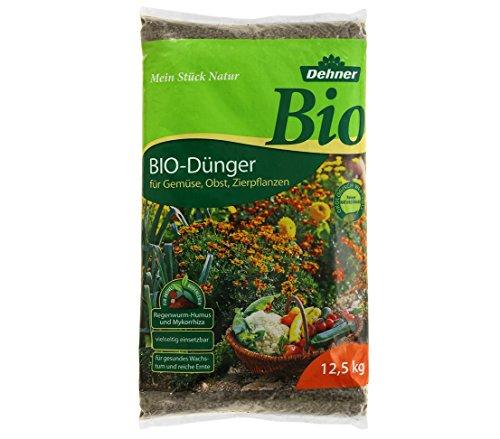 Dehner Bio Dünger, für Gemüse, Obst und Zierpflanzen, 12.5 kg, für ca. 75 qm