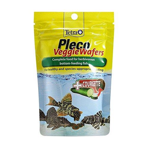 Comida para peces, obleas vegetales de Tetra Pleco, 42 g