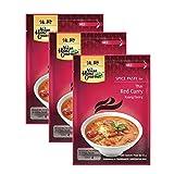 Curry rojo en pasta - 50g x 3 unidades